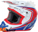 Kask Cross Fly Kinetic Full Speed Czerwony