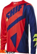 BLUZA SHIFT 3LACK MAINLINE NAVY/RED