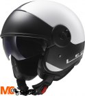 KASK LS2 OF597 CABRIO WHITE BLACK
