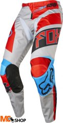 SPODNIE FOX 180 FALCON GREY/RED