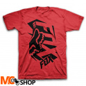 FOX JUNIOR SALUT FLAME RED T-SHIRT dziecięcy