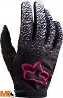 RĘKAWICE FOX JUNIOR LADY DIRTPAW BLACK/PINK