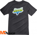 FOX JUNIOR DRAFTR HEAD BLACK T-SHIRT