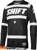 SHIFT 3LACK STRIKE BLACK/WHITE BLUZA OFF-ROAD