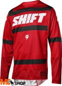 SHIFT 3LACK STRIKE DARK RED BLUZA OFF-ROAD