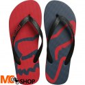 JAPONKI FOX BEACHED FLIP FLOP DARK RED