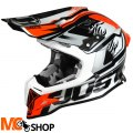 KASK JUST1 J12 DOMINATOR WHITE-RED