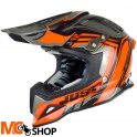 KASK JUST1 J12 FLAME BLACK-ORANGE