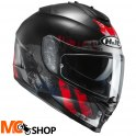 KASK INTEGRALNY HJC IS-17 SHAPY BLACK/RED
