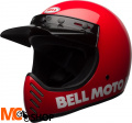 KASK OFF-ROAD BELL MOTO-3 CLASSIC RED