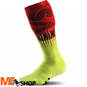 SKARPETY EVS MOTO SOCK TORINO HI-VIZ YELLOW/RED