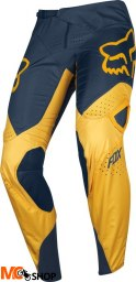 SPODNIE OFF-ROAD FOX 360 KILA NAVY/YELLOW