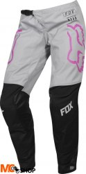 SPODNIE OFF-ROAD FOX LADY 180 MATA BLACK/PINK