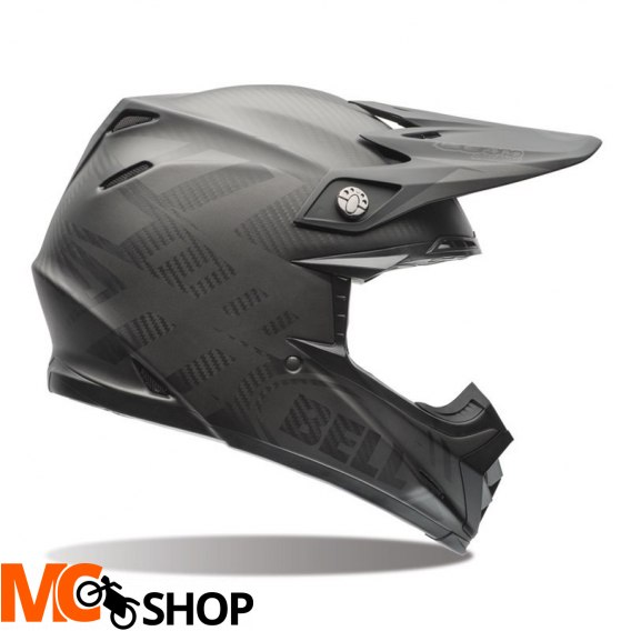 BELL KASK OFF-ROAD MOTO-9 FLEX SYNDROME BLACK MATT