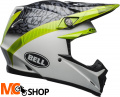 BELL KASK OFF-ROAD MOTO-9 MIPS CHIEF BLACK/WHIT/GR