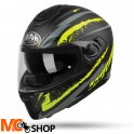 AIROH KASK INTEGRALNY ST301 LOGO YELLOW MATT