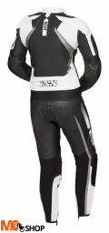 IXS KOMBINEZON SKÓRZANYLADY RS-1000 BLACK/WHITE/SI