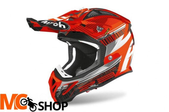AIROH KASK OFF-ROAD AVIATOR 2.3 AMS2 NOVAK ORANGE