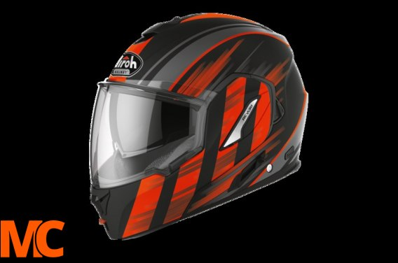 AIROH KASK SYSTEMOWY REV 19 IKON ORANGE MATT