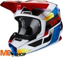 FOX KASK OFF-ROAD JUNIOR V-1 YORR BLUE/RED
