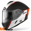 AIROH KASK INTEGRALNY SPARK FLOW ORANGE GLOSS
