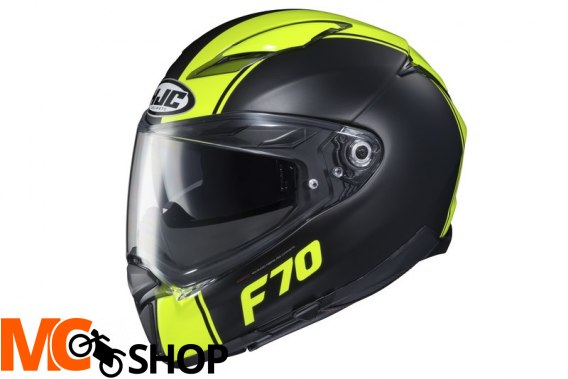 HJC KASK INTEGRALNY F70 MAGO BLACK/FLO YELLOW