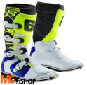GAERNE BUTY CROSS JUNIOR SG-J WHITE/BLUE/YELLOW FL