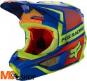 FOX KASK OFF-ROAD JUNIOR V-1 OKTIV BLUE