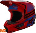 FOX KASK OFF-ROAD JUNIOR V-1 OKTIV RED