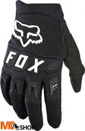 FOX RĘKAWICE OFF-ROAD JUNIOR DIRTPAW BLACK/WHITE