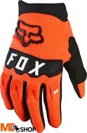 FOX RĘKAWICE OFF-ROAD JUNIOR DIRTPAW ORANGE