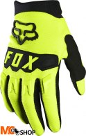 FOX RĘKAWICE OFF-ROAD JUNIOR DIRTPAW YELLOW