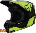 FOX KASK OFF-ROAD JUNIOR V-1 REVN YELLOW