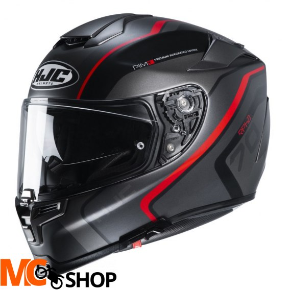 HJC KASK INTEGRALNY R-PHA-70 KROON BLACK/GREY/RED