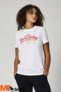FOX T-SHIRT LADY CENTER STAGE BF WHITE