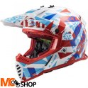 KASK LS2 FAST MX437 FAST EVO MINI FUNKY RED WH.